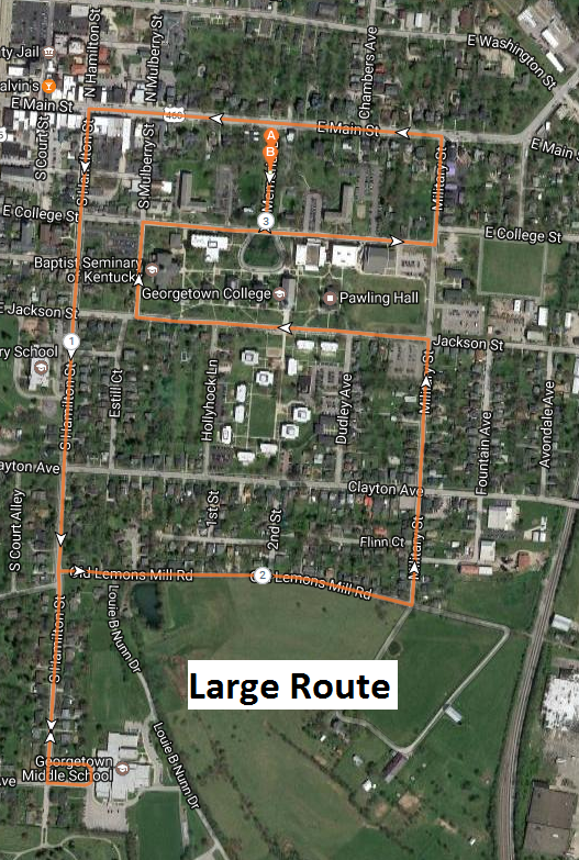 Georgetown 5K (LARGE ROUTE)